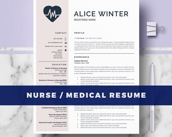 registered nurse resume template word