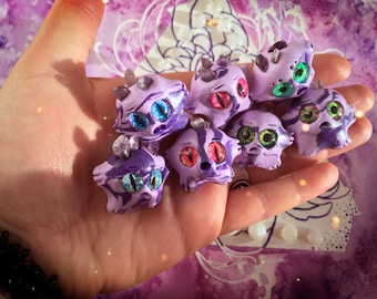 Amethyst Crystal Worry Wart // anxiety worry doll cute meditation relaxation therapy depression mental health