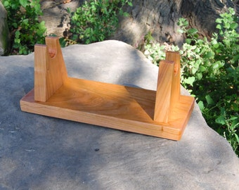 cherry wood sword stand