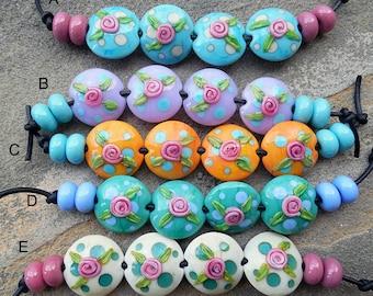 Floradora Lentil Bead Sets