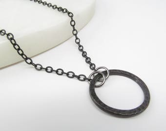 Black chain glasses holder; glasses lanyard; reading glasses necklace holder; glasses leash; glasses loop; black glasses chain; for men