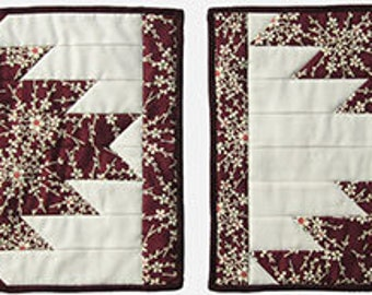 Designs to Share with You - Modern Reflections - quilt pattern - placemats - table runner - DSY223