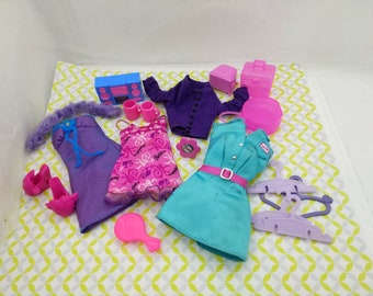 Barbie  Casual Wear Clothes  and accessories Barbie fashion Outfit 11 inch dolls  Mix and Match