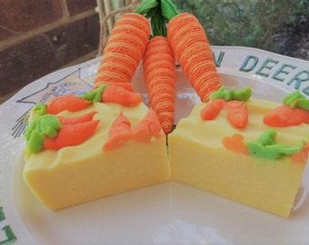 Granny's Carrot & Buttermilk Cold Process Handmade Soap
