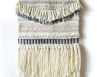 Woven wall hanging | Wall tapestry | Wall textile weaving | Boho tapestry | Fiber Art