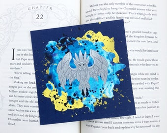 "Tower of Dawn inspired watercolor Art Print, Bookish Gift, Item. 5"" x 5"""