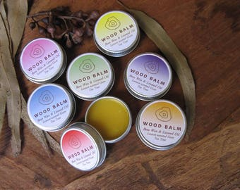 Wood Balm (handmade) to nourish and care for your Australian Native Timber Beads and Jewelry
