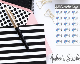Post Office Planner Stickers
