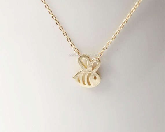 necklace and by pendant grande in bee brass comes silver boosh products bumble fashion bumblebee beck a jewelry inc gold