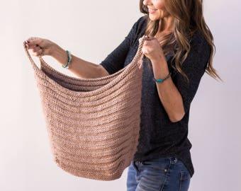 Knitting Pattern ~ Fundamentals Basket ~ Knitting Pattern