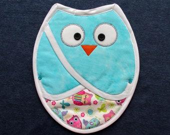 Pot Holder - Curious Owl 3