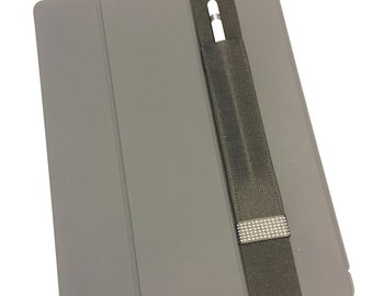 "Pencil Pocket Black/White Grid - Sleeve for Apple Pencil, Apple Pencil Case for iPad Pro (12.9"", 10.5""  AND 9.7""), Stylus Holder for iPad"