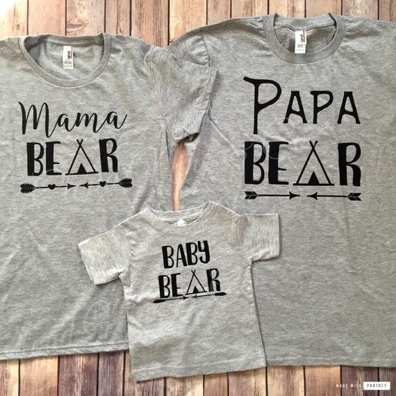 Papa Bear Mama Bear Baby Bear EG3IlEbRX