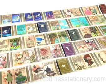 Tokyo Antique Fairy Tales Washi Tape, Masking Tape, Cinderella Washi Tape,  Little Red Riding Hood Washi Tape, Mermaid Washi Tape