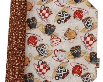 """Reversible placemats """"I love coffee"""" in SOSO Collection."""