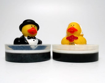 Wedding Rubber Duck Soap Set