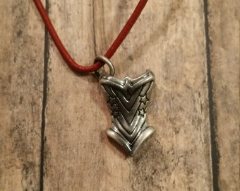 Wonder Woman Corset Necklace