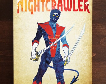 Nightcrawler Metal Plate