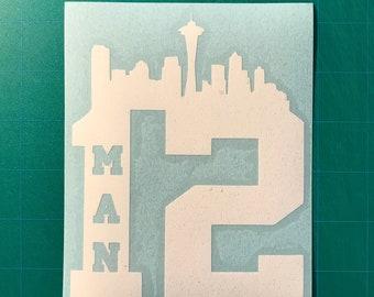 12 Man Seattle Skyline