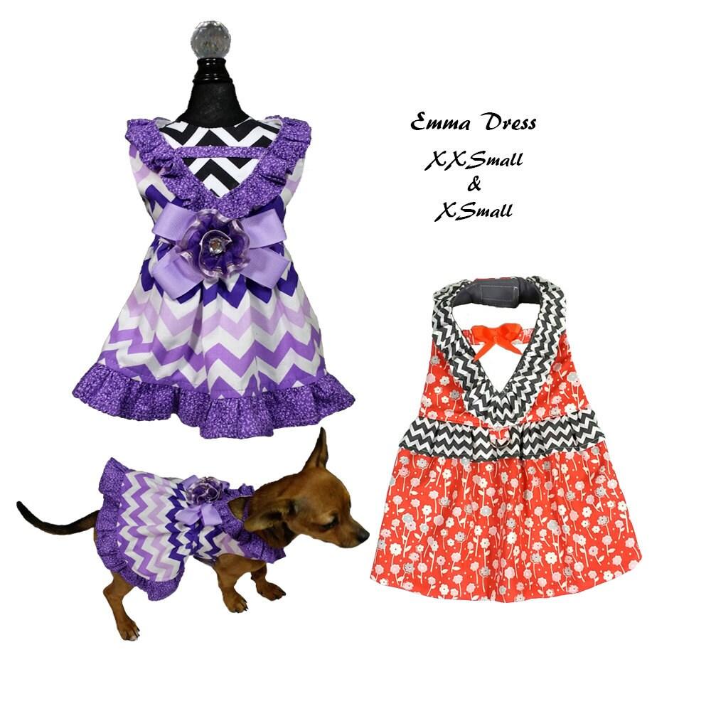 Emma dog dress pattern xxsmall xsmall dog clothes sewing zoom jeuxipadfo Image collections