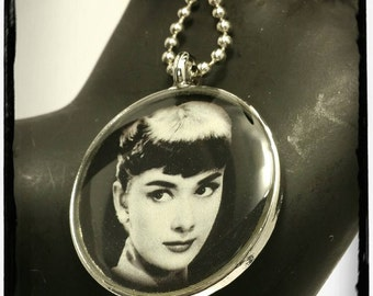 Audrey Hepburn Pendant Necklace
