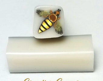 Bee Raw Cane, Wasp, Raw Polymer Clay Cane, Unbaked Clay Cane, Millefiori Clay Cane, Polymer Clay Cane, Craft Supply, Bugs