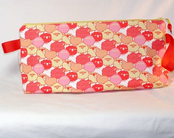 Sheep Shapes Anna Clutch - Premium Fabric