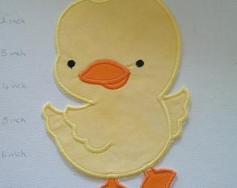 Fer à repasser sur Applique poulet, joli poussin, poulet jaune