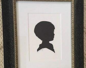 Custom Hand Drawn and Cut Silhouettes
