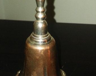 Vintage Avon Silver Plated Hostess Bell