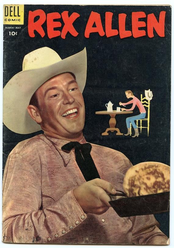 Rex Allen Comics 16 May 1955 VG (4.0)
