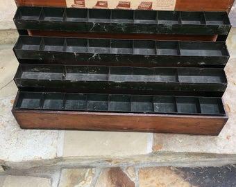 Vintage Ferry and Morse Seed Display Rack