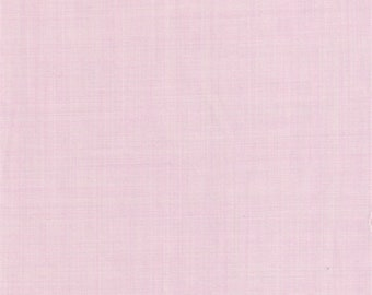 Heather Pink Polyester, Fabric By The Yard
