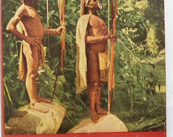 Adam with Arrows Inside New Guinea by Colin Simpson 1958