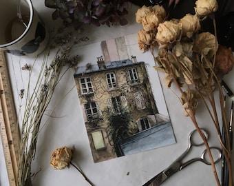 """Montmartre Print 5x7"""""""