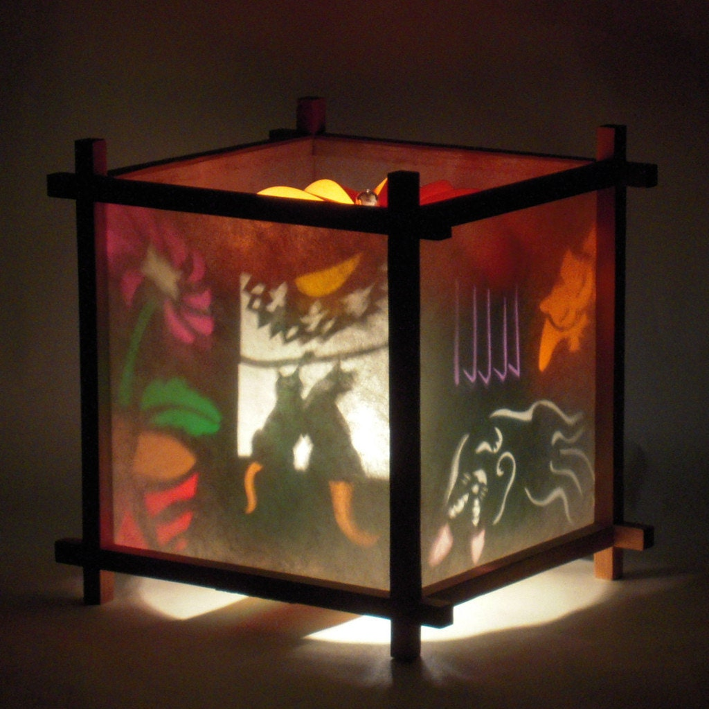 Handmade table lamp nursery decor kids night light gift for zoom mozeypictures Images