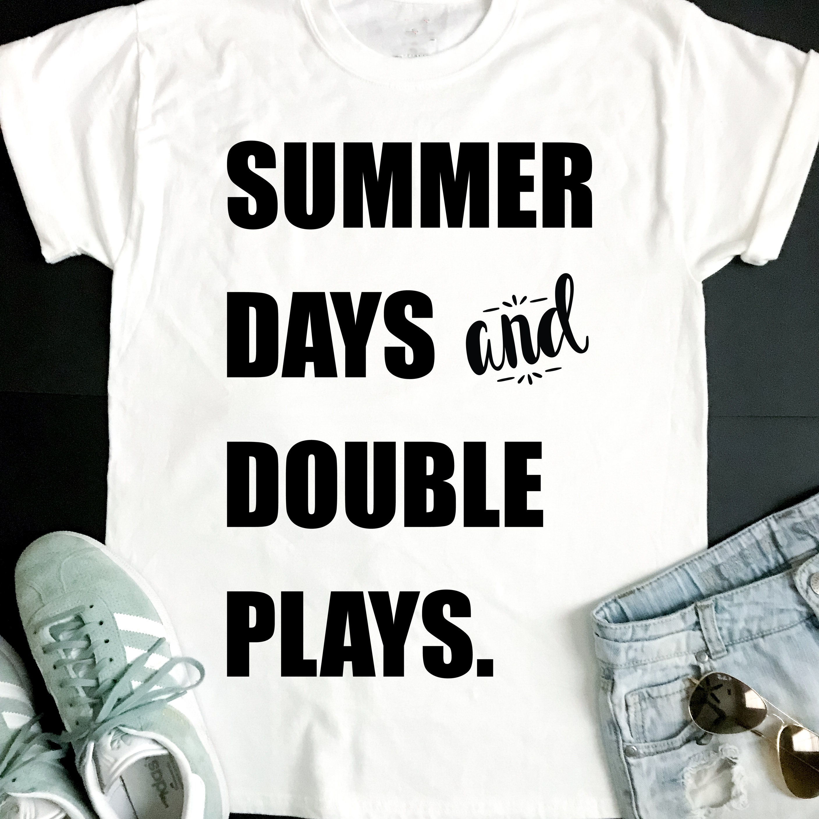 e6556f262360 Summer Days and Double Play SVG
