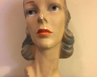 Vintage Head/Bust Display Form Womens