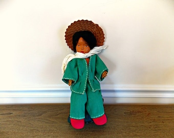 Vintage Doll, Asian Doll, Doll, Collectible, Collectible Doll, Toy, Vintage Toy