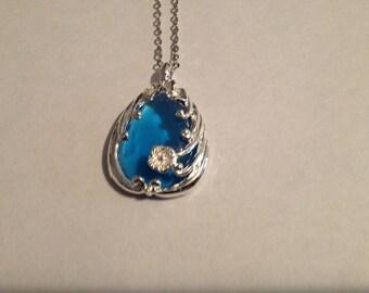 Tear  drop necklace