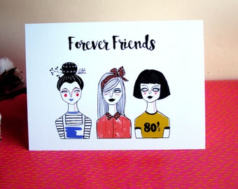 Postcard Forever Friends