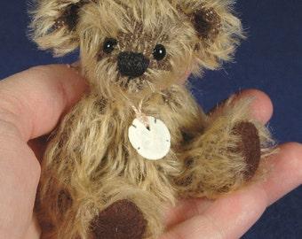 """Pattern - 4"""" Miniature Teddy Bear  ePattern - ROCKO by Laura Lynn"""