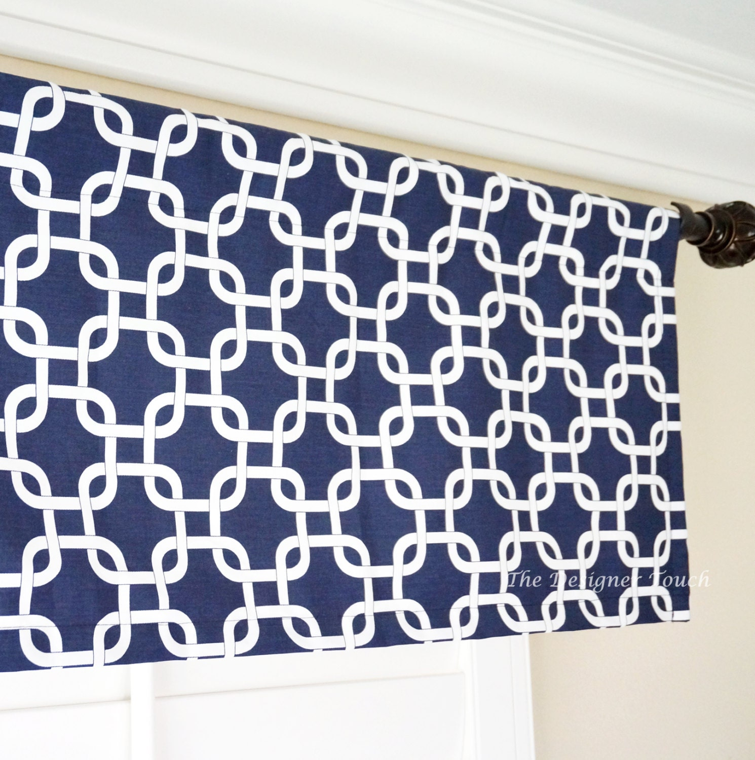 amazon valance com curtain inch blue straight united burgundy home kitchen dp by plaid