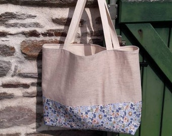 Linen and Liberty Betsy tote bag