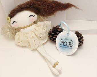 Ornament / Christmas gift / princess / little doll / decorative doll / fairy doll / rag doll