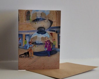 Rundle Mall greeting card
