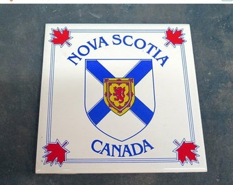 BTS Nova Scotia Canada Ceramic Tile