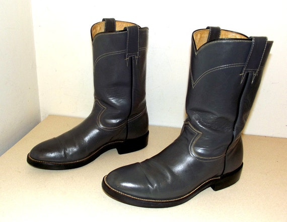size boots cowgirl D 11 cowboy Grey 5 size Roper or style 9 5qOFICw