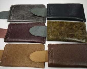 Reading Leather Eyeglasses cases High Quality ( 6 ) Colors