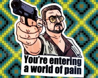 Stickers The Big Lebowski